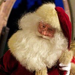 Father Christmas joins Alderton Christingle service